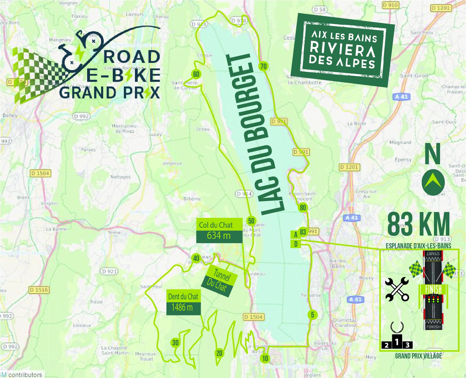 1/2 Road E-bike Grand Prix : 83 km